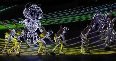 Pyeongchang 2018 Winter Olympics - Closing ceremony - Pyeongchang Olympic Stadium - Pyeongchang, South Korea - February 25, 2018 - Artists perform during the closing ceremony. REUTERS/Murad Sezer
