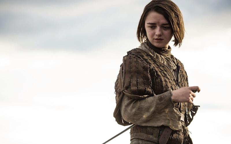 Maisie Williams as Arya - Credit: HBO