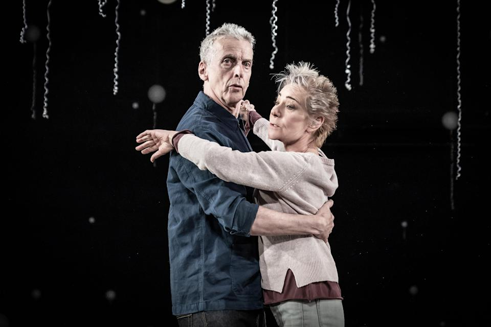 Peter Capaldi and Zoe Wanamaker in Constellations (Marc Brenner)