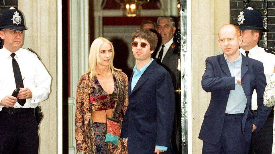 Noel Gallagher and Alan McGee