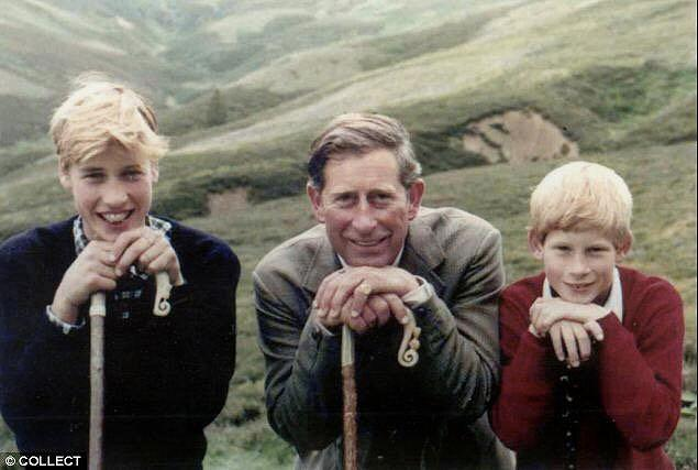 """Prince William, Prince Charles and Prince Harry; photo shared by Kensington Palace Twitter account in honour of Father's Day. <em>(Photo via <a href=""""https://twitter.com/KensingtonRoyal/status/876371560965312512"""" rel=""""nofollow noopener"""" target=""""_blank"""" data-ylk=""""slk:Twitter"""" class=""""link rapid-noclick-resp"""">Twitter</a>)</em>"""