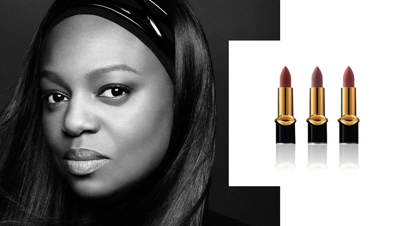 "<p>Affectionately referred to as ""Muva Pat,"" Pat McGrath is a legendary makeup artist who has mastered the runways' most-talked-about makeup looks. There's a reason why supermodels such as Kate Moss, Naomi Campbell, and Gigi Hadid look to her for beauty guidance — she knows how to create products that make women look and feel sexy, powerful, and cool.<br /><br />Mattetrance: Curated Collection of 3 in Skin Show, $95, <a rel=""nofollow"" href=""https://www.patmcgrath.com/products/mattetrance-curated-collection-of-3"">patmcgrath.com</a>. (Art by Quinn Lemmers for Yahoo Lifestyle) </p>"