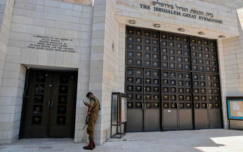 Jerusalem's Great Synagogue will be closed for the first time over Jewish New Year - AFP