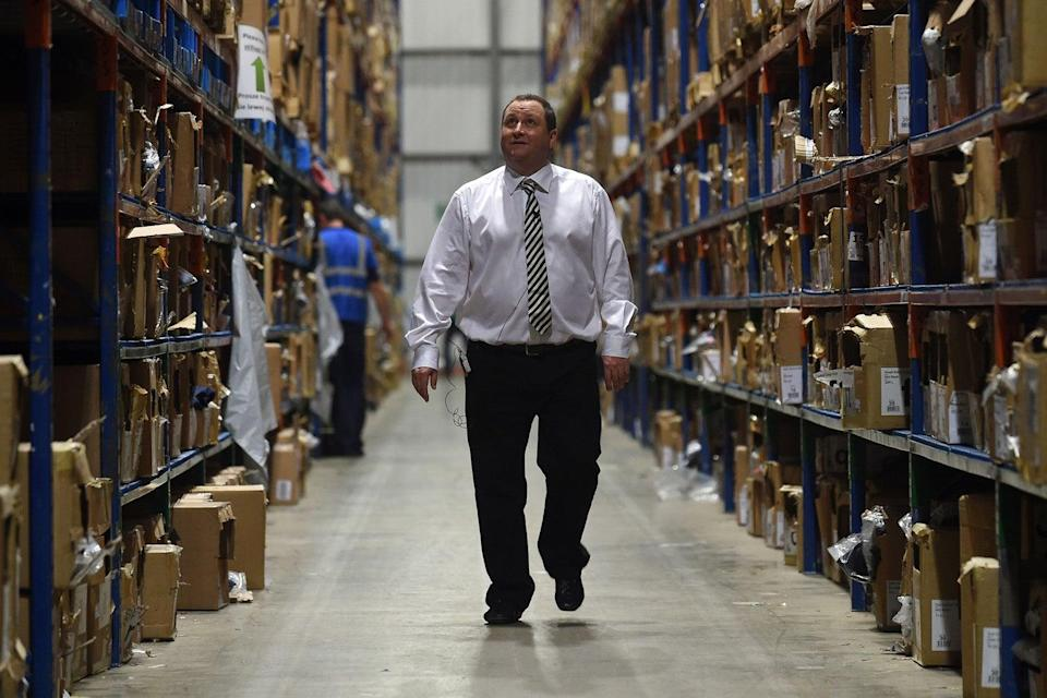 Mike Ashley is CEO of Frasers Group (Joe Giddens/PA)