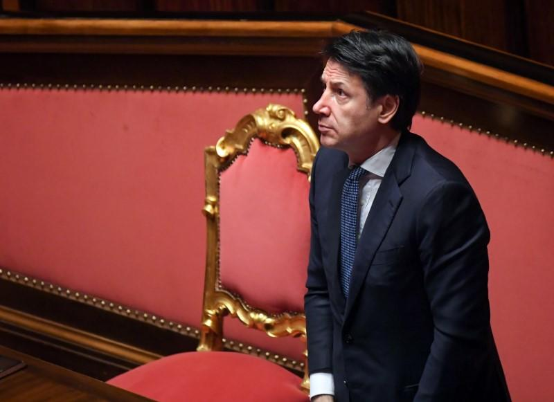 Italy PM sees Europe in 'hard, severe' recession post-coronavirus