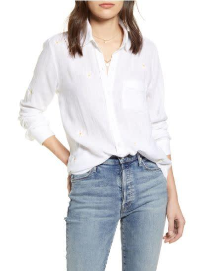 Normally $158, this Rails Charli Shirt is on sale for $52 at Nordstrom.