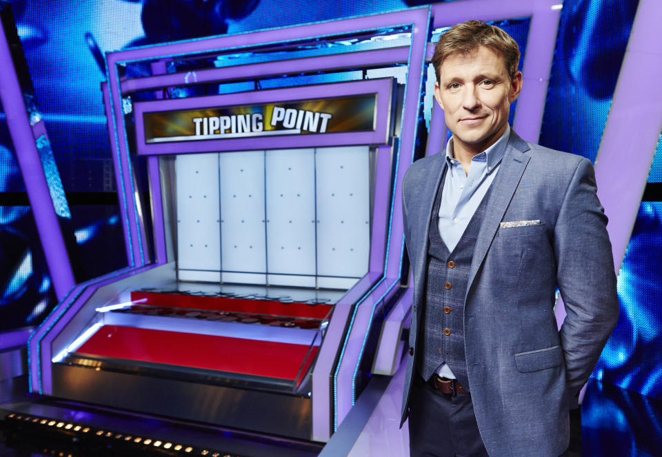 Ben Shephard will be returning to Tipping Point filming after it was suspended back in March. (RDF Television/ITV)