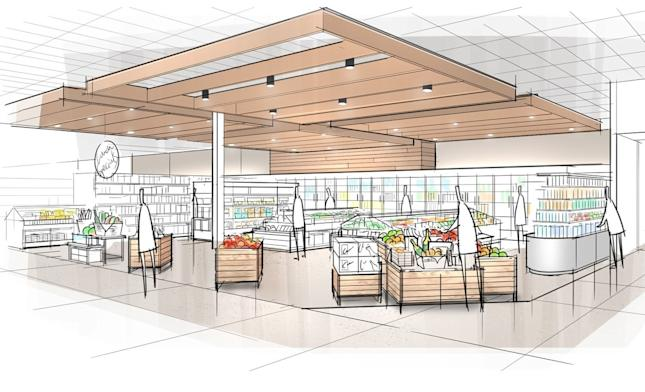 Target's new grocery department