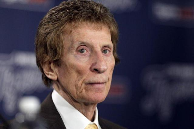 Longtime Detroit Tigers owner Mike Ilitch has died at age 87. (AP)