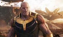 """<p>The Thanos actor revealed details of a scene where his character comes face to face with the Avengers including Captain Marvel in <em>Endgame</em>.<br>""""I've got Scarlett right there, and I've got Brie, and Don Cheadle, and Hemsworth, and Chris Evans, and Downey…I'm sitting there and I'm looking like I look, which is not 700lb and purple and eight feet tall. </p>"""