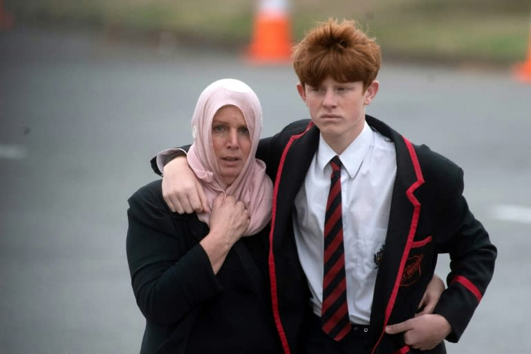 Hundreds of mourners attended the funeral of victims 14-year-old Sayyad Milne and 24-year-old Tariq Omar