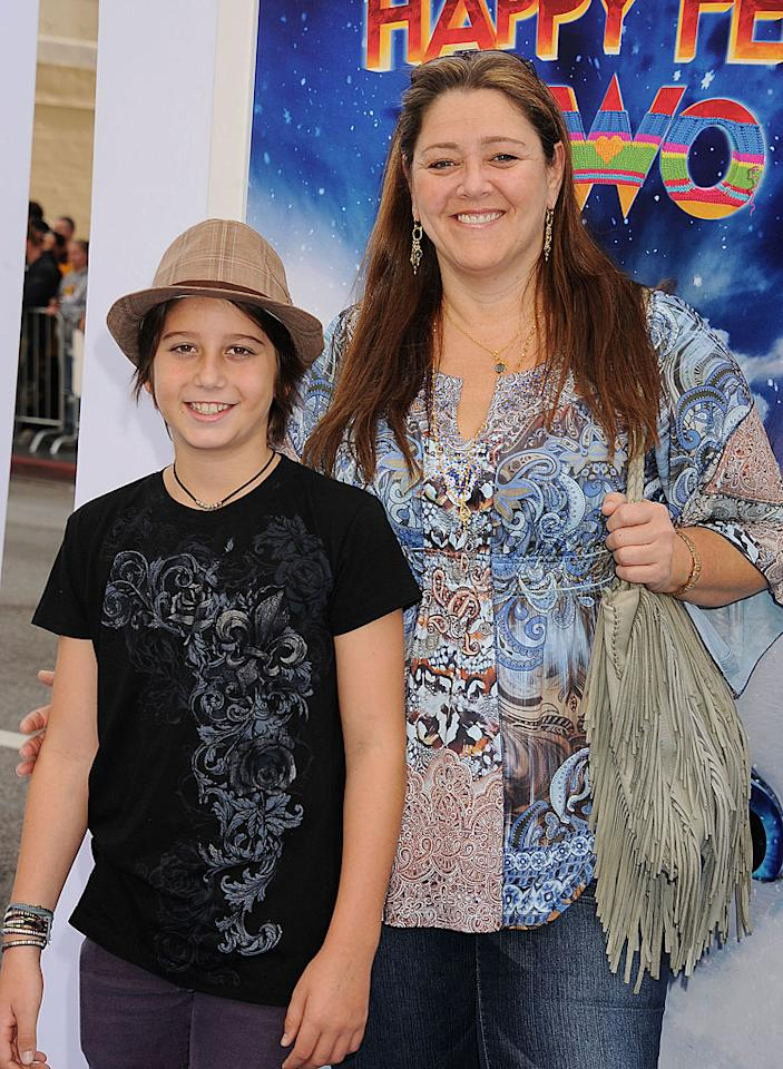 "<p class=""MsoNormal""><b>Camryn Manheim's son Milo: 9 pounds, 2 ounces</b></p><p class=""MsoNormal"">""The Practice"" star Camryn Manheim has never been shy about talking about her weight. She topped out at 225 pounds (not counting when she was pregnant), wrote a book called <em>Wake Up, I'm Fat</em>, and dedicated her Emmy to ""all the fat girls."" So it wasn't a big surprise that Manheim had a big baby. Son Milo was 9 pounds, 2 ounces when he was born in March 2001, a few days before his mom turned 40. And it was her son who prompted her to eventually slim down. ""We ride bikes, play a lot of sports,"" she told <em>People</em> in 2007. ""[He] has become my exercise. It was really a change in lifestyle, wanting to have healthy food in the house so my son learned how to eat well. It was a decision I made to give my son [now 11] a better head start than I had.""</p>"