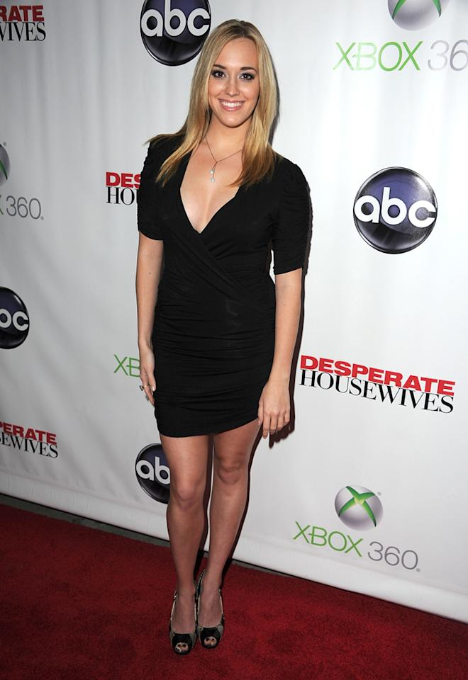 "Andrea Bowen attends the ""<a target=""_blank"" href=""http://tv.yahoo.com/desperate-housewives/show/36265"">Desperate Housewives</a>"" Series Finale Party at the W Hollywood on April 29, 2012 in Hollywood, California."