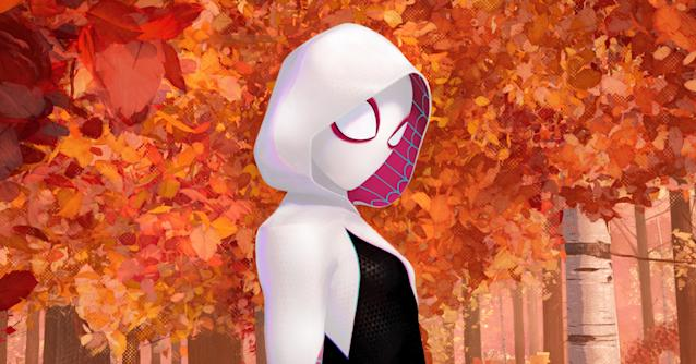 Gwen Stacy (Hailee Steinfeld) as Spider-Gwen in <i>Spider-Man: Into the Spider-Verse.</i> (Image: Sony Pictures)