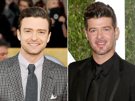 Justin Timberlake vs. Robin Thicke: Who Should Win Video of the Year?