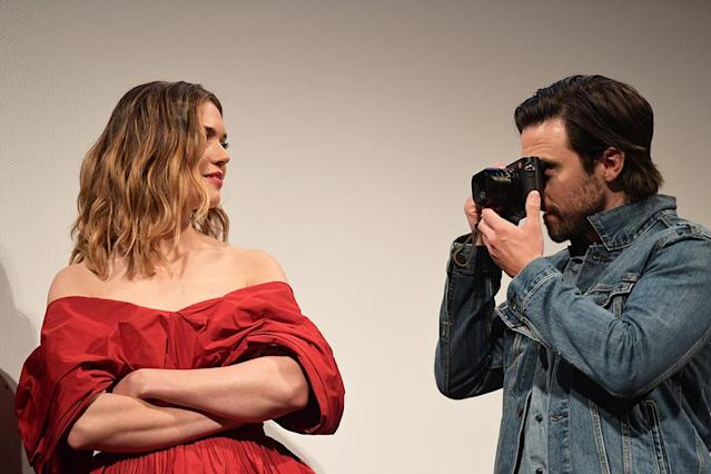 "<p>Even when they're not in character, the ""This is Us"" stars can't help but be so darn endearing! In a total Jack Pearson move, Ventimiglia snapped a photo of his beautiful costar, while attending the 2018 SXSW Conference in Austin, Texas, (Photo: Matt Winkelmeyer/Getty Images for SXSW) </p>"