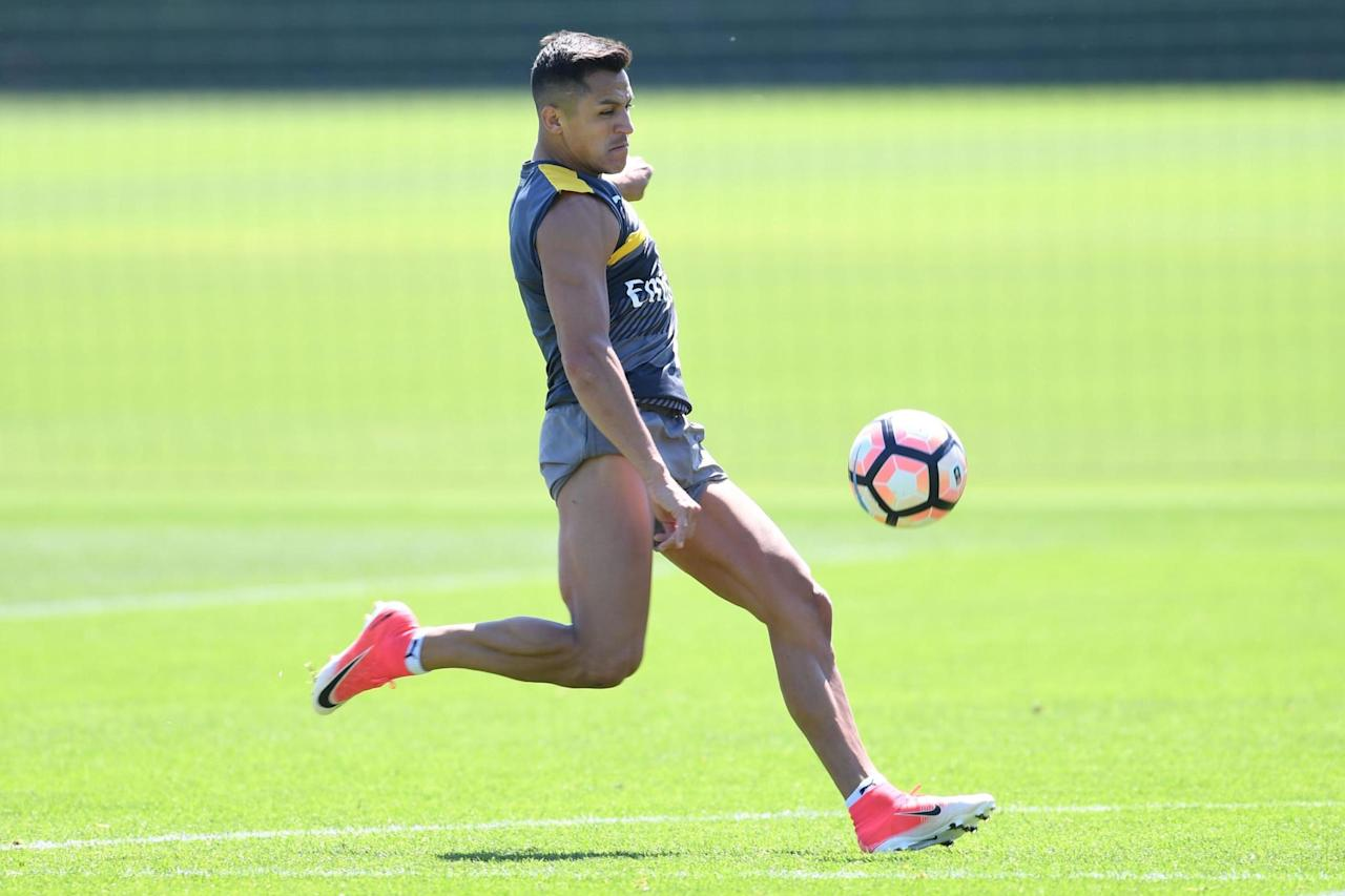 Arsenal confirm Alexis Sanchez training return date as Arsene Wenger considers Leicester involvement