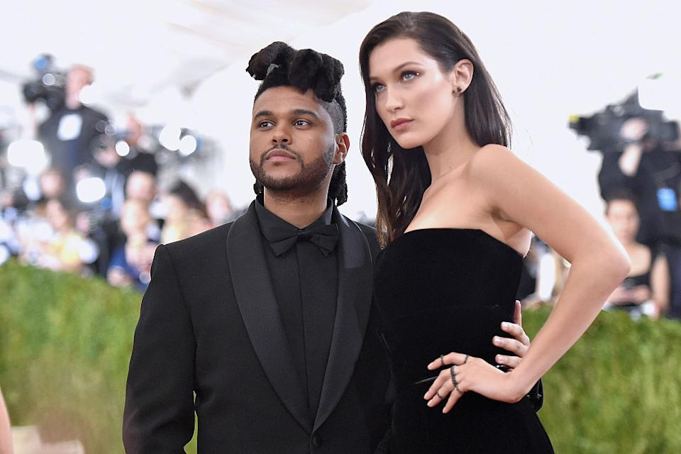 The Weeknd et Bella Hadid (Photo by Mike Coppola/Getty Images for People.com)
