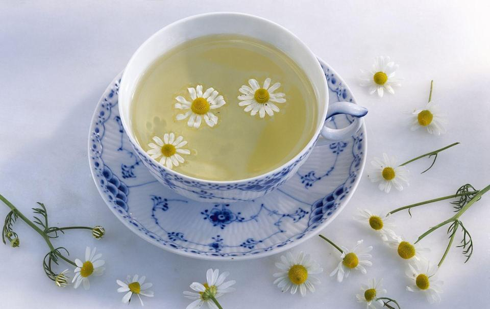 """<p>""""As someone who loves to talk, I am always getting a <strong>sore throat</strong>. I love chamomile and peppermint tea, known for reducing inflammation and relieving pain. I prefer decaffeinated, especially at night, because good sleep is just as important when fighting an illness.""""</p><p><em>—Raj Dasgupta, M.D., assistant professor of clinical medicine, Keck School of Medicine of USC</em></p>"""