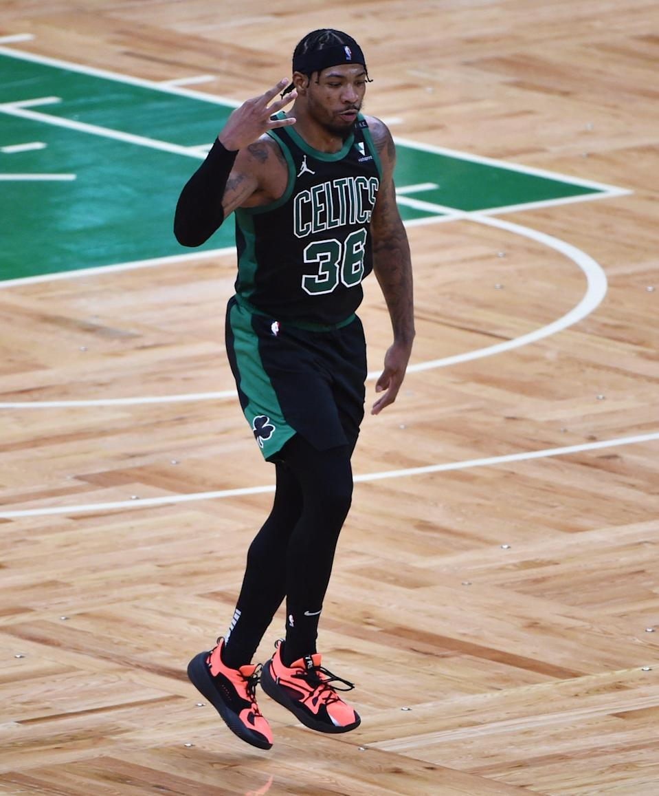 Marcus Smart had his best game of the series with 23 points on 8-of-11 shooting.