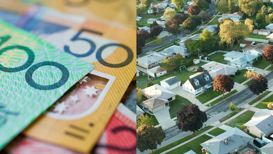 Australia's booming property prices means workers with an average income are more and more unlikely to get their foot on the ladder. Source: Getty/Yahoo Finance