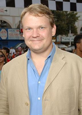 """Premiere: <a href=""""/movie/contributor/1800185412"""">Andy Richter</a> at the LA premiere of Columbia's <a href=""""/movie/1809233772/info"""">Talladega Nights: The Ballad of Ricky Bobby</a> - 7/26/2006<br>Photo: <a href=""""http://www.wireimage.com"""">Lester Cohen, Wireimage.com</a>"""