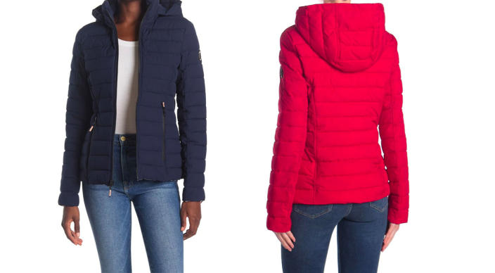 Nautica Hooded Packable Quilted Jacket (Photo: Nordstrom Rack)