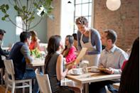<p>Another way to take advantage of your server's expertise: Ask them what the healthiest option on the menu. They may know right off the bat, and if they don't, they'll ask and find out for you. They might even have some secrets to make a meal healthier that they can fill you in on or help you out with. </p>