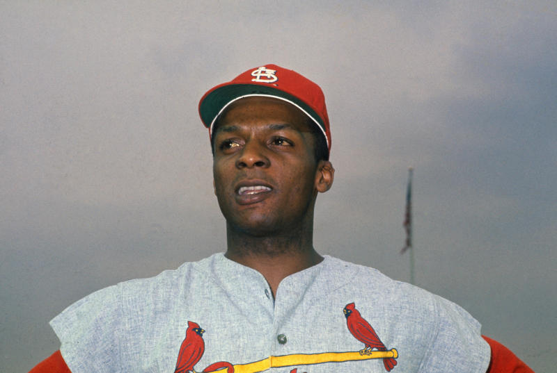 (Original Caption) This is a close up of Kurt Flood, St. Louis Cardinals outfielder.