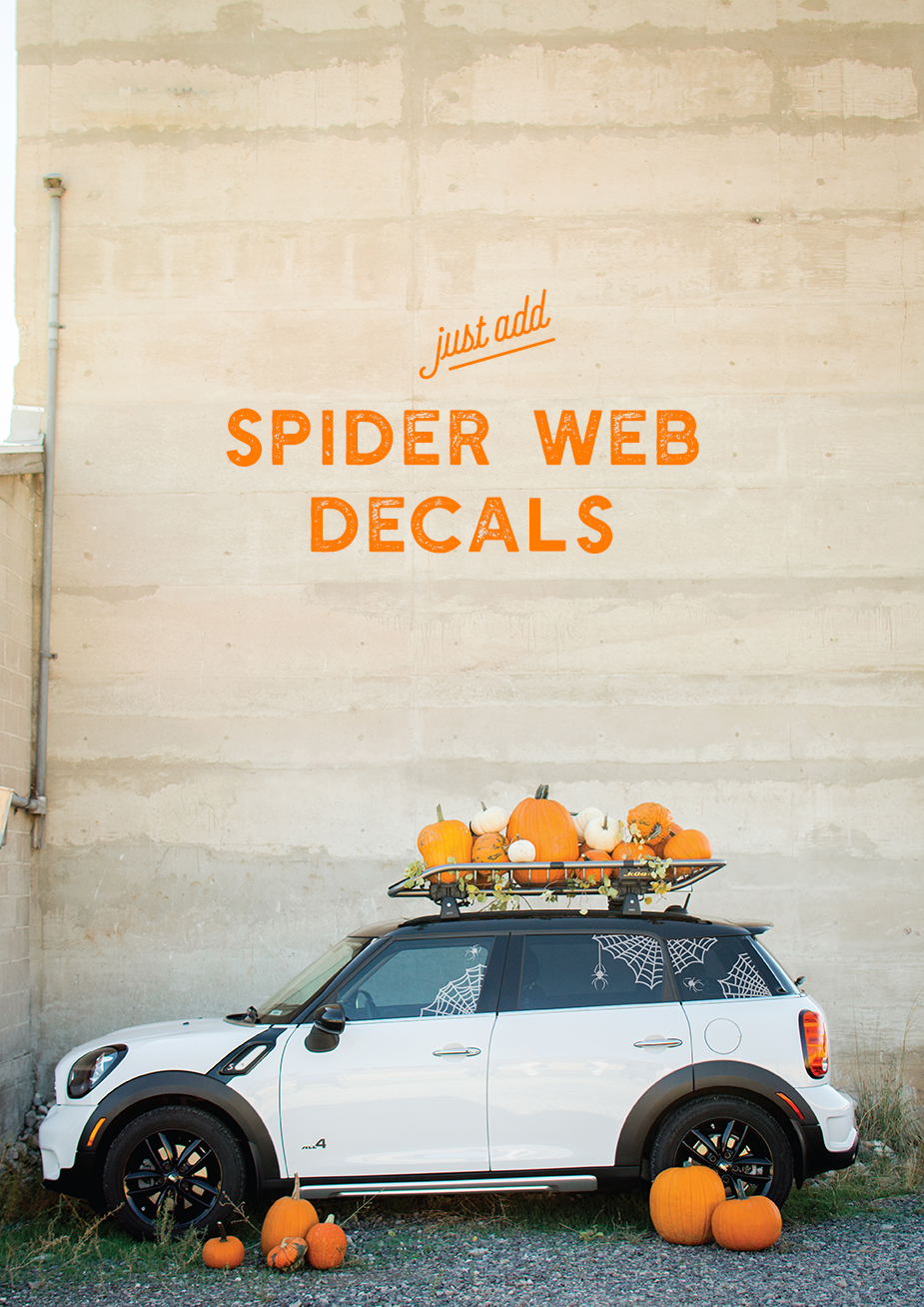 """<p>For those who want to show off their pumpkin décor all over town, opt for a pumpkin patch car. It will look great in your driveway and on the go!</p><p><strong>See more at <a href=""""https://thehousethatlarsbuilt.com/2017/10/pumpkin-patch-car-and-spider-web-decals.html/"""" rel=""""nofollow noopener"""" target=""""_blank"""" data-ylk=""""slk:The House That Lars Built"""" class=""""link rapid-noclick-resp"""">The House That Lars Built</a>. </strong></p><p><a class=""""link rapid-noclick-resp"""" href=""""https://www.amazon.com/ARKSEN-Universal-Extension-Luggage-Carrier/dp/B07RM4HWMD?tag=syn-yahoo-20&ascsubtag=%5Bartid%7C2164.g.36877187%5Bsrc%7Cyahoo-us"""" rel=""""nofollow noopener"""" target=""""_blank"""" data-ylk=""""slk:SHOP CAR RACKS"""">SHOP CAR RACKS</a></p>"""