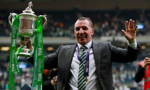 Brendan Rodgers targets European progress after Celtic's domestic treble