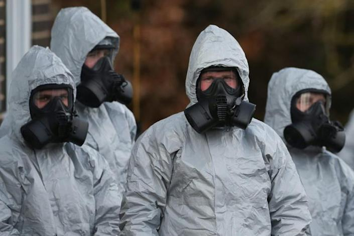 Experts speculate traces of the dose that poisoned the pair may have lingered since the Skripal attack in March