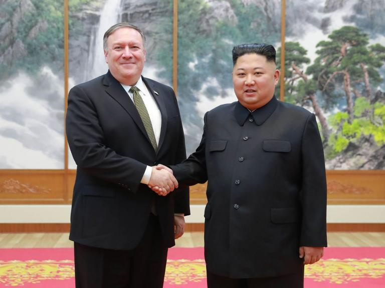 North Korea calls for 'immature' Mike Pompeo to be dropped from nuclear talks with US