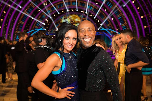 Amy Dowden and Danny John-Jules (Credit: BBC)