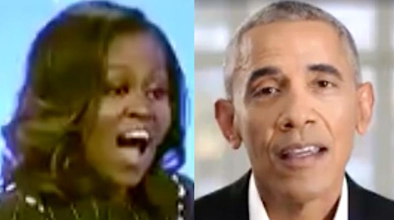 Barack Obama Surprised Michelle With The Sweetest Anniversary Video Message