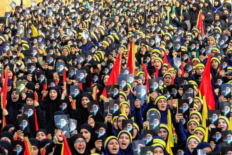 Hezbollah has a youth movement and provides social services to the poor as well as maintaining political and militant wings (AFP Photo/Mahmoud ZAYYAT)