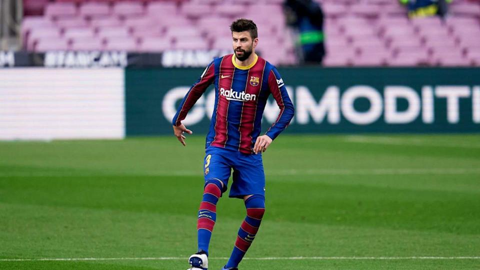 Gerard Piqué terminó con molestias | Quality Sport Images/Getty Images