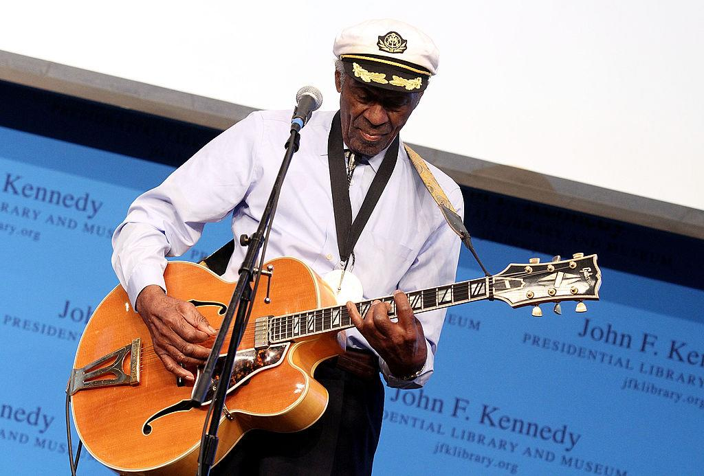 <p>Rock and Roll legend Chuck Berry died aged 90 on on 18 March. (Marc Andrew Deley/Getty Images) </p>