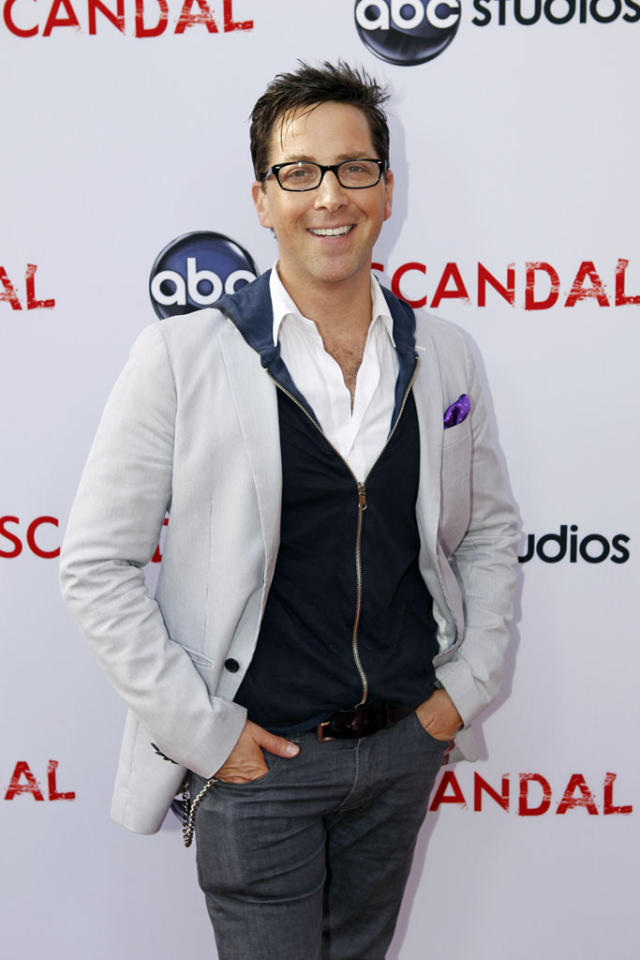 """Dan Bucatinsky attends """"An Evening with Scandal"""" at The Academy of Television Arts & Sciences for their season finale table read and Q&A on Thursday, May 16, 2013."""