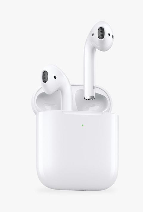 Apple AirPods with Charging Case - Credit: John Lewis & Partners