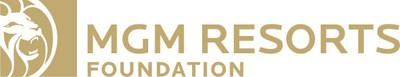 MGM Resorts Foundation Logo (PRNewsfoto/MGM Resorts Foundation)