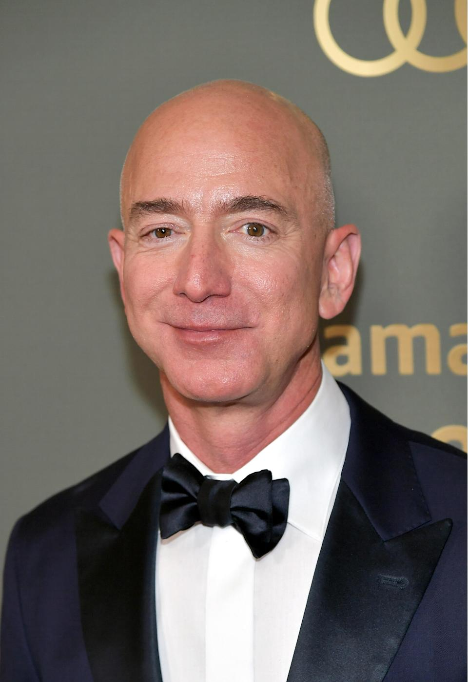 In late 1993, Bezos decided to establish an online bookstore. He left his job at D. E. Shaw and founded Amazon in his garage on July 5, 1994, after writing its business plan on a cross-country drive from New York City to Seattle. Bezos initially named his new company Cadabra but later changed the name to Amazon after the Amazon River in South America.