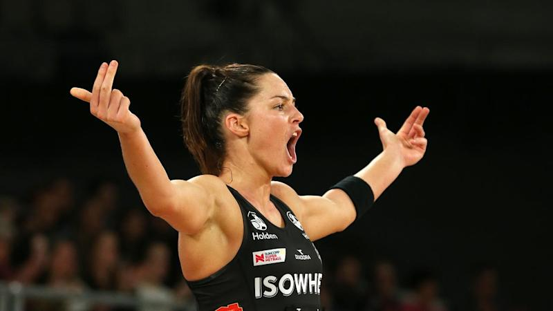 SUPER NETBALL MAGPIES GIANTS