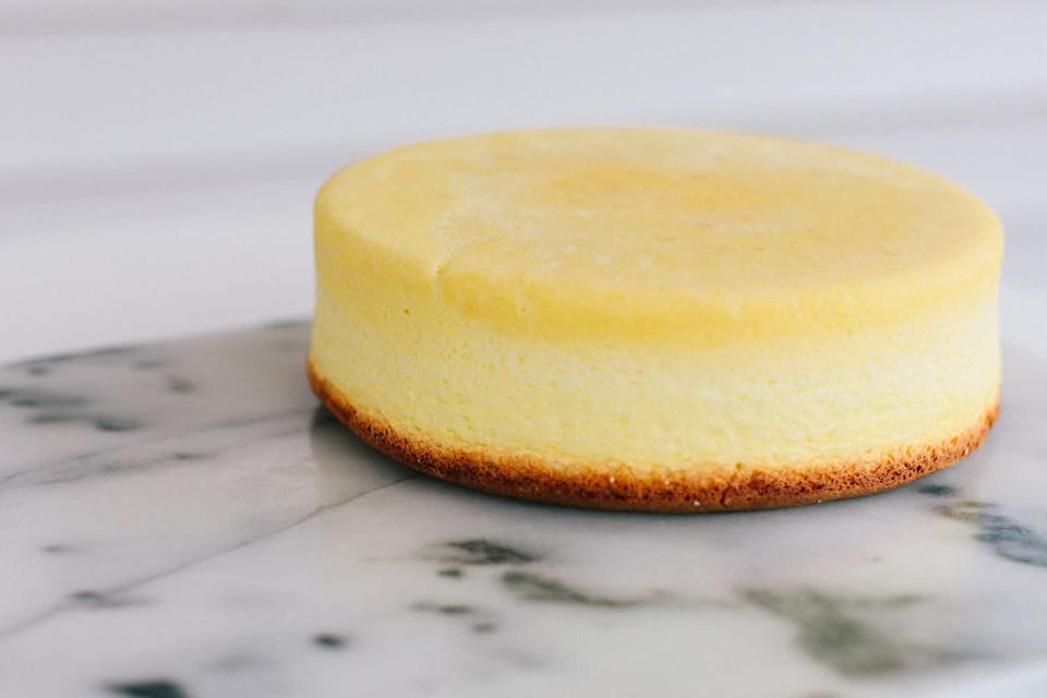 """<a href=""""http://www.becca-bakes.com/home/light-and-fluffy-japanese-cheesecake?rq=cheesecake"""" rel=""""nofollow noopener"""" target=""""_blank"""" data-ylk=""""slk:Get the Light and Fluffy Japanese Cheesecake recipe from Becca Bakes"""" class=""""link rapid-noclick-resp""""><strong>Get the Light and Fluffy Japanese Cheesecake recipe from Becca Bakes</strong></a>"""