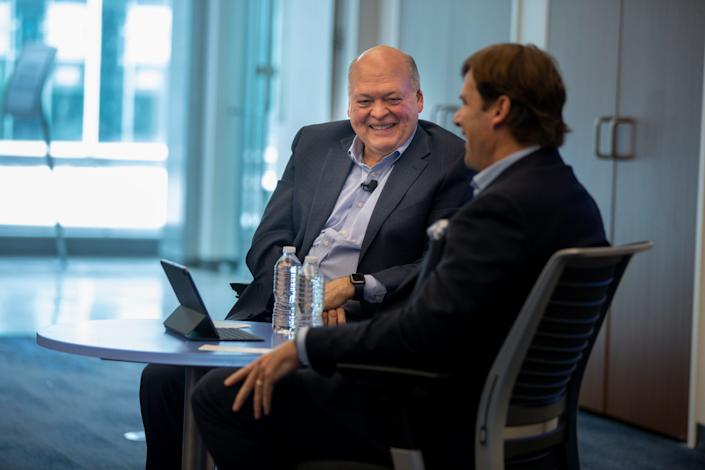 Farley, right, came to Ford in 2007 from Toyota.