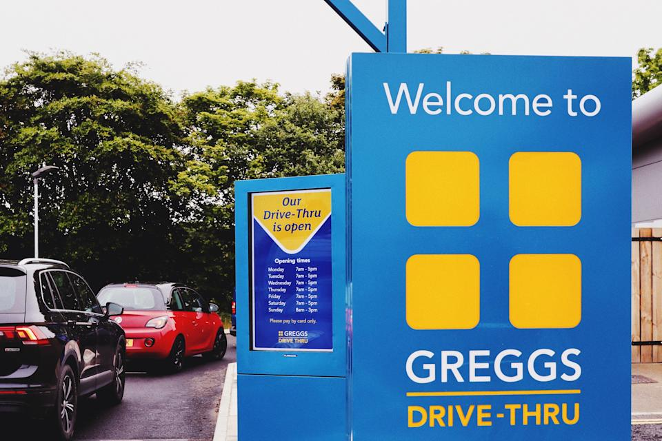 Greggs have opened more drive-thru sites as they have grown more popular during the pandemic (Greggs/PA)