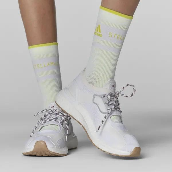 <p>If you're someone who likes a little style with your workout looks, go for these cool <span>Adidas by Stella McCartney Ultraboost Sandals</span> ($210). They've got such a cool little opening at the front, but are still supportive and made to move in.</p>