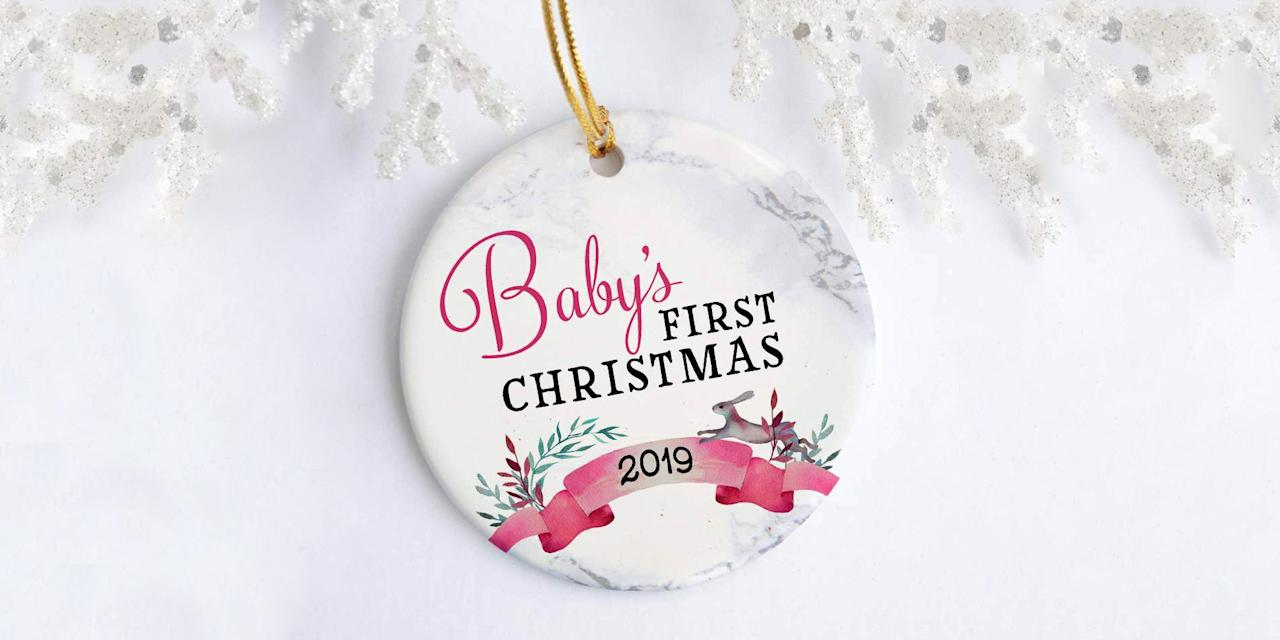 e10b03e1f These Are the Best Baby's First Christmas Ornaments for a Festive Tree