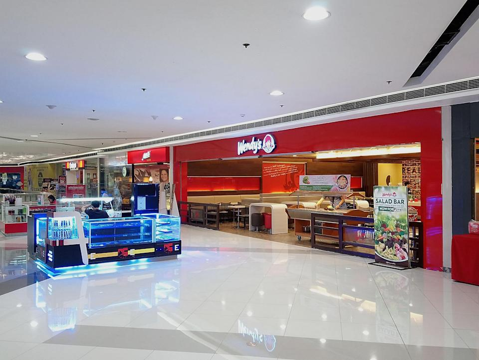 wendy's in a mall
