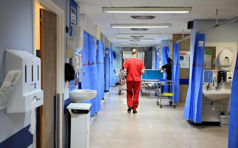 Hospital admissions have soared over two years - PA